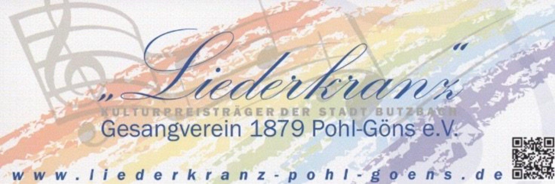 Gesangverein 'Liederkranz' 1879 Pohl-Göns e.V.